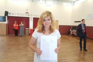 A year ago Zuzanna barely spoke English – now she has eight GCSEs